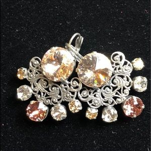 Sabika Sporty Glam Earrings